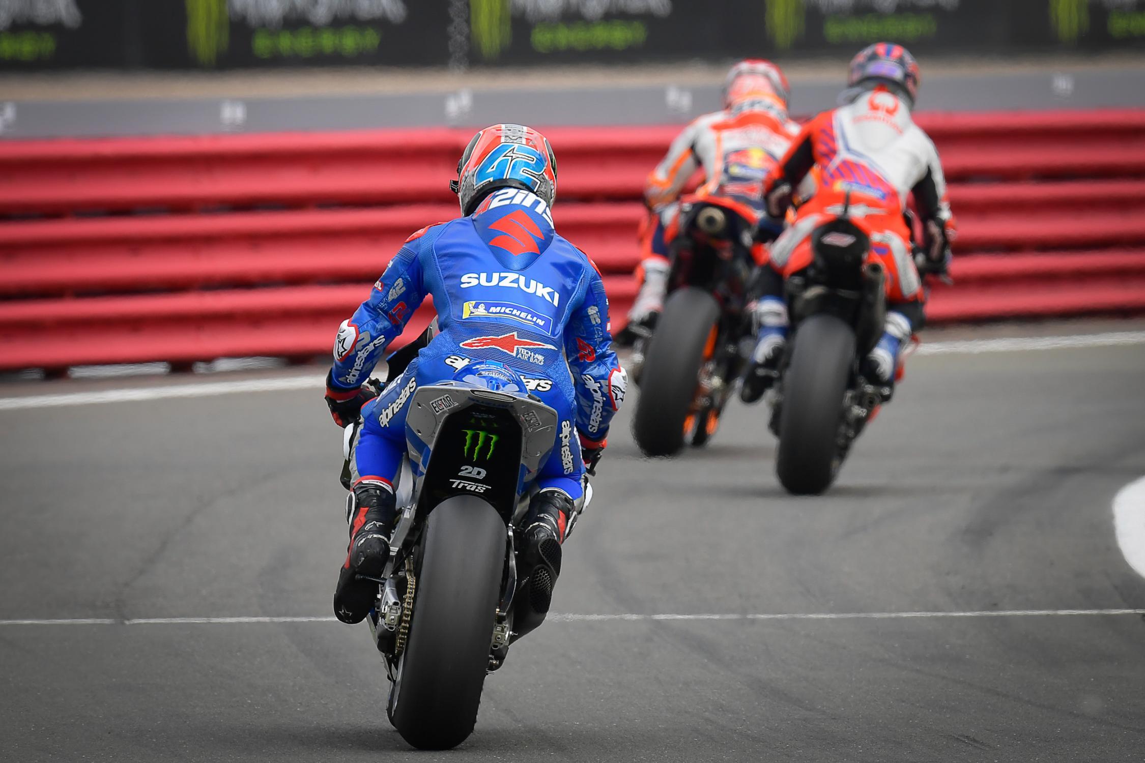 Alex Rins, Monster Energy British Grand Prix, Team Suzuki Ecstar