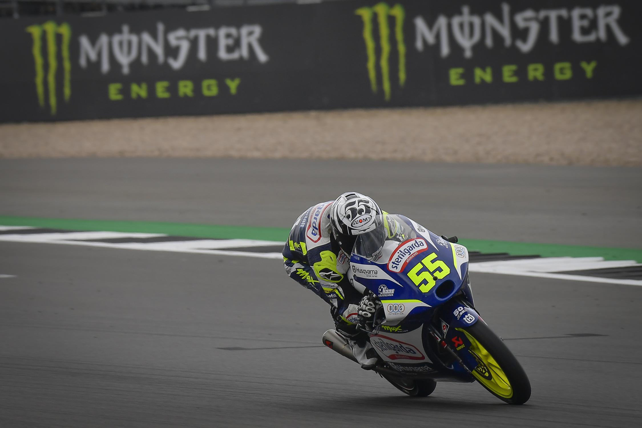 Romano Fenati, Max Racing Team, Monster Energy British Grand Prix