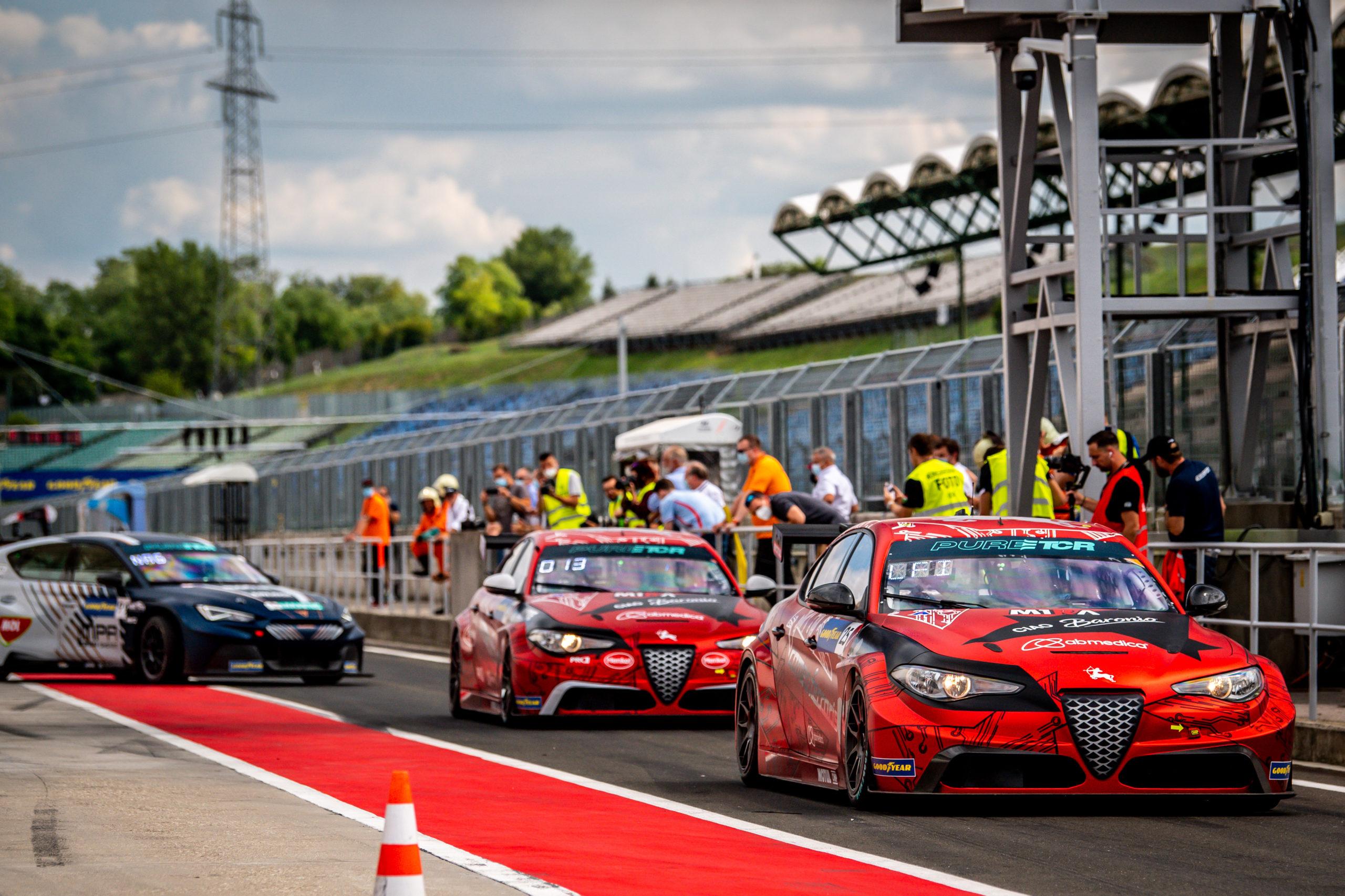 Romeo Ferraris - Libres - Hungría - 2021 - PURE ETCR