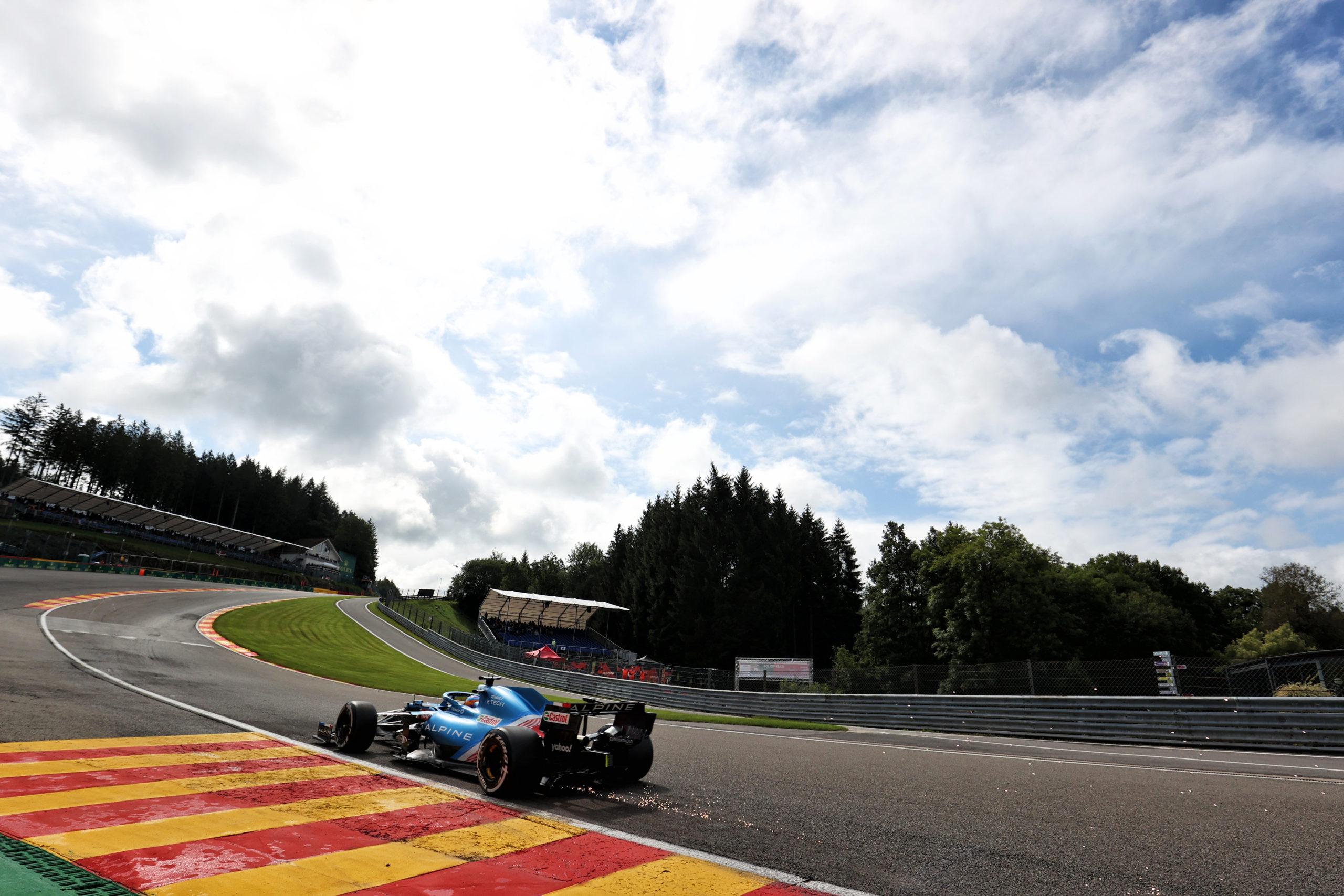 Fernando Alonso (ESP) , Alpine F1 Team A521, F1 Grand Prix of Belgium at Spa-Francorchamps, 2021