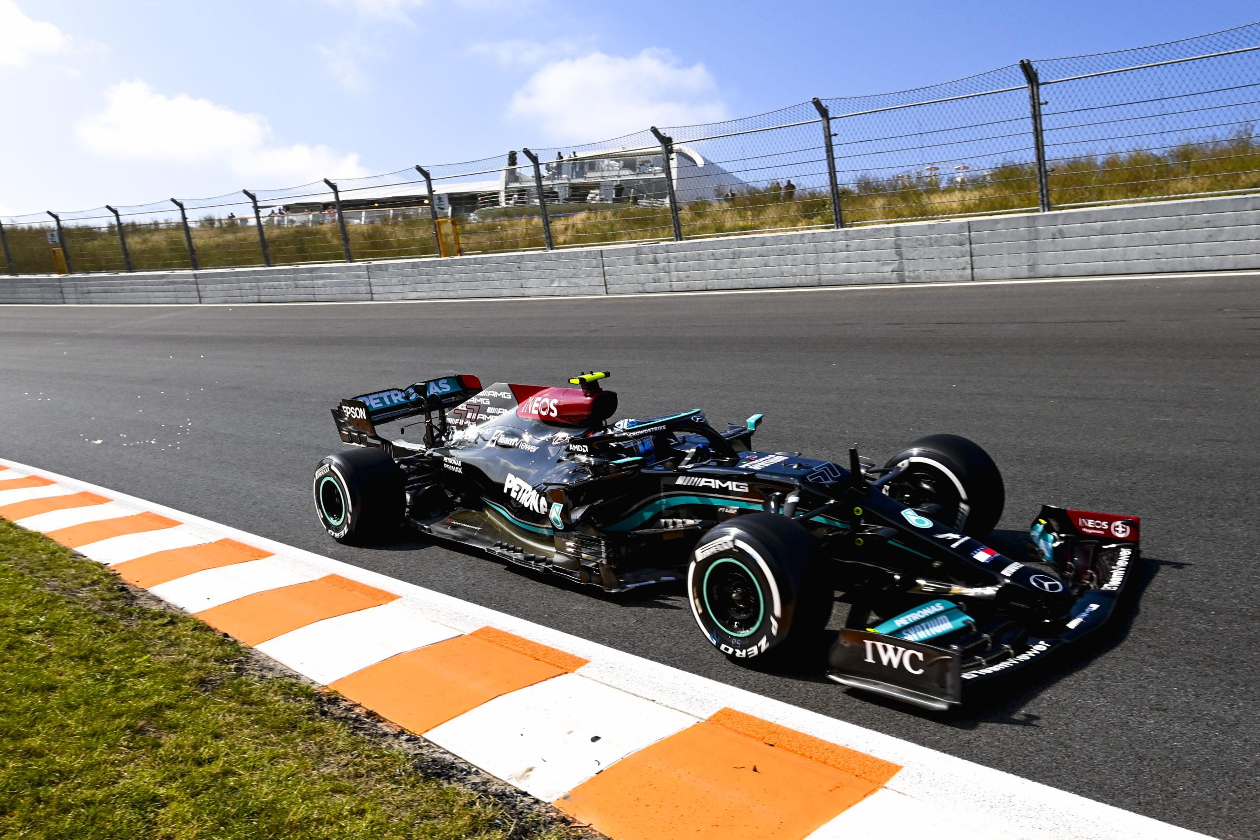 Valtteri Bottas, Mercedes, 2021 Dutch Grand Prix, Friday - LAT Images