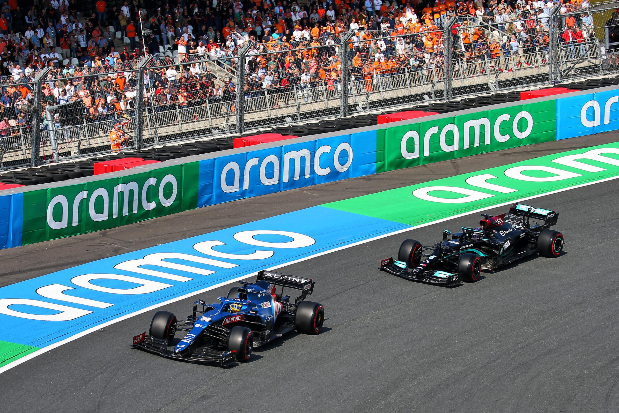 Fernando Alonso (ESP), Alpine F1 Team A521, F1 Dutch Grand Prix at Zandvoort, 2021