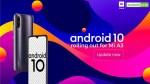 Tech :  Xiaomi Mi A3 propose une nouvelle mise à jour de sécurité de juillet basée sur Android 10  , avis