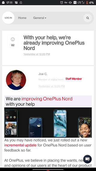 OnePlus-Nord-Camera-Update