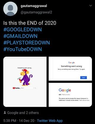 google-down