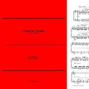 Classical Sonata (solo marimba)