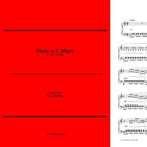 Etude in C Major (solo marimba)