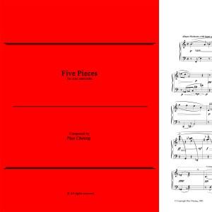Five Pieces (solo marimba)