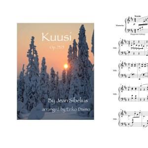 Kuusi (arr. for solo marimba by Eriko Daimo)