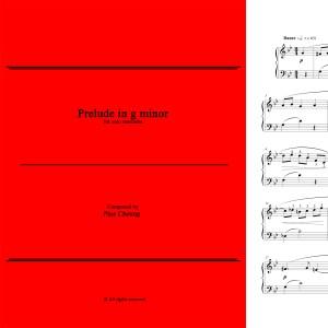 Prelude in g minor (solo marimba)