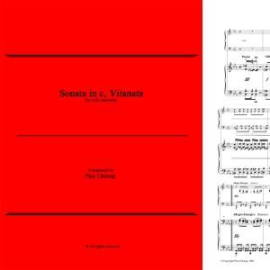 Sonata in c, Vitanata (solo marimba)