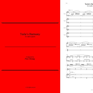 Tesla's Harmony (for mallet quartet)
