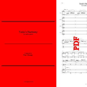 Tesla's Harmony (for mallet quartet) - Pius Cheung