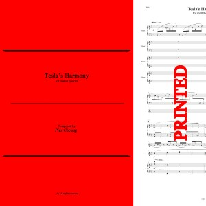 Tesla's Harmony (for mallet quartet) - PRINTED