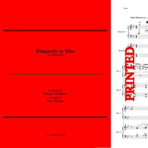 Rhapsody in Blue (arr. for marimba duo) - Score