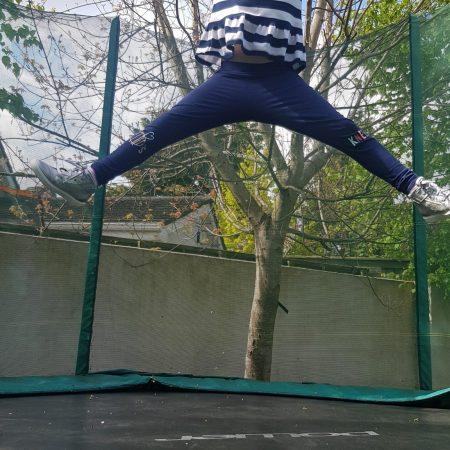 "Tess JI Ms. McCarthy ""Jumping in the trampoline"""