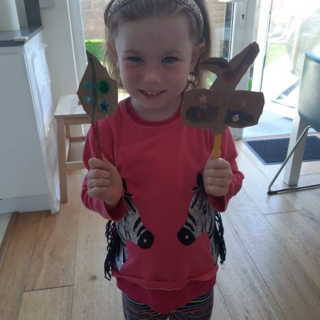 """Ellen JI Ms McGuinness """"Ellen has been learning about mini beasts this week and she made these all by herself"""""""