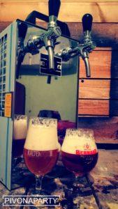 Výčapné zariadenie - prenosna pipa na pivo