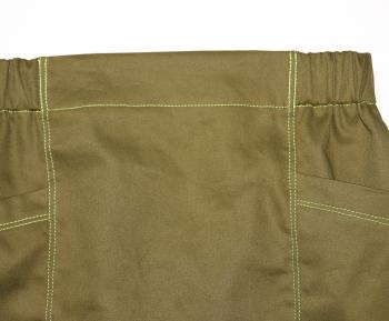 型紙不要、直線裁ちで作るタイトスカートの無料レシピ