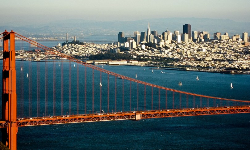 San Fransisco seen from the Marin highlands