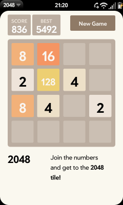 The 2048 Game