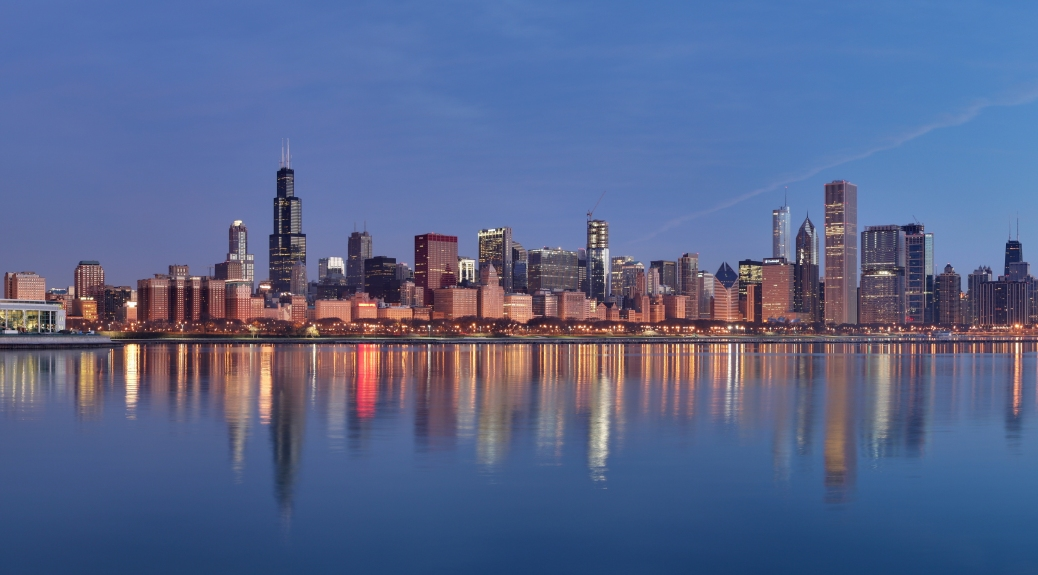 Chicago sunrise by Daniel Schwen