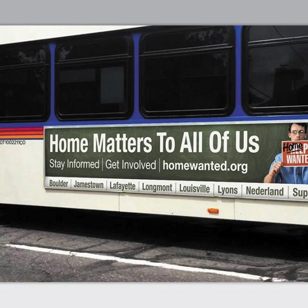Ad for Affordable Housing Campaign