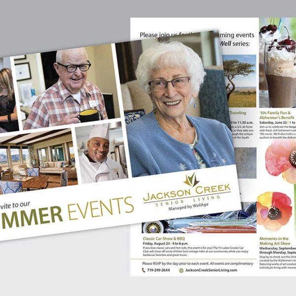 Postcard for Jackson Creek Senior Living