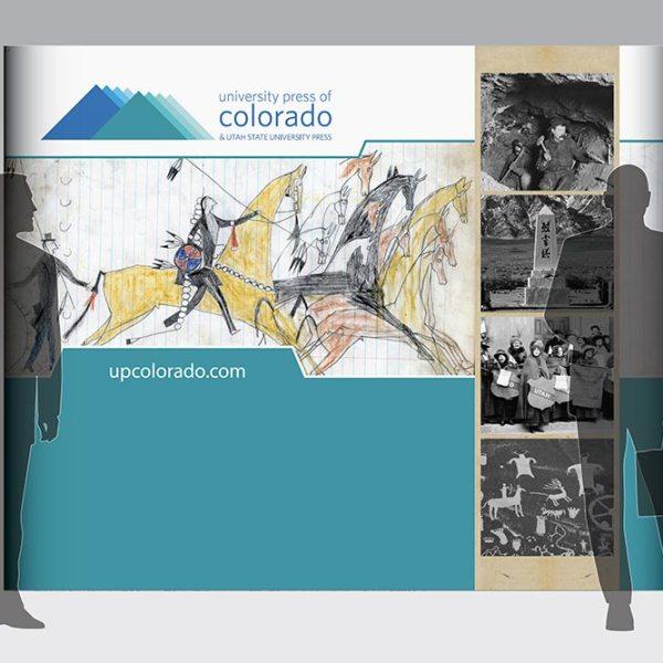 Trade Show Booth for University Press of Colorado
