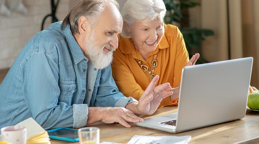 Senior Living Residents and the Power of Zoom
