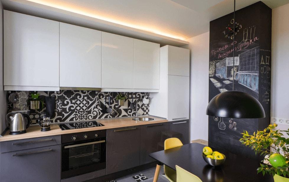 дизайн кухни 8 кв м фото новинки 2019 года 3