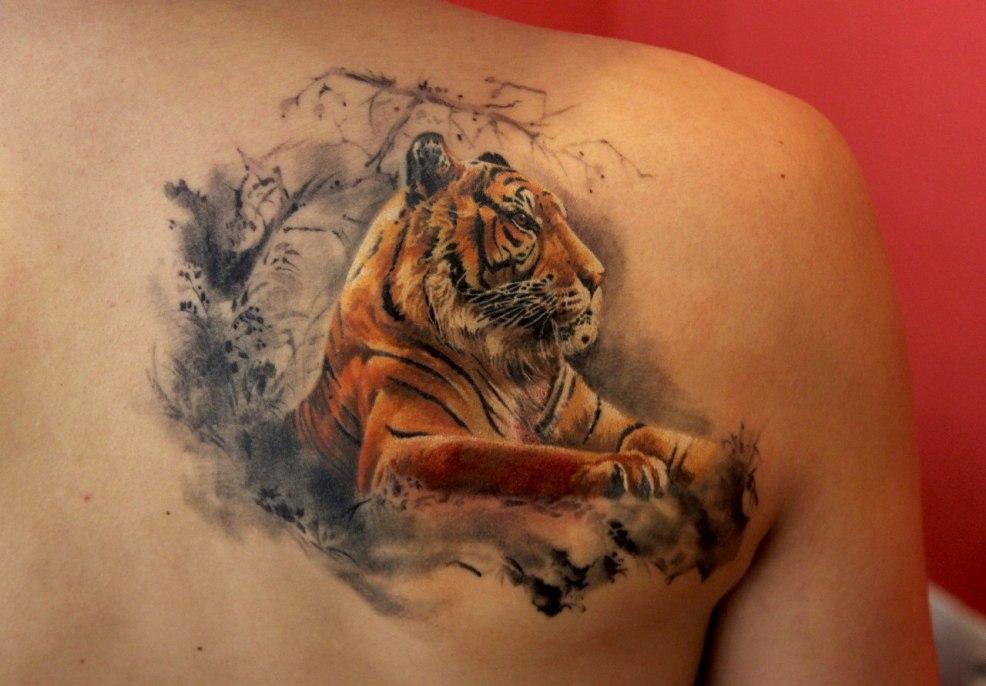тату тигр 100 фото значение эскизы для мужчин и девушек