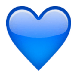 Image result for purple and blue heart emoji