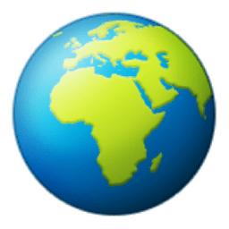 Image result for globeemoji