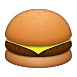 Image result for hamburger emoji