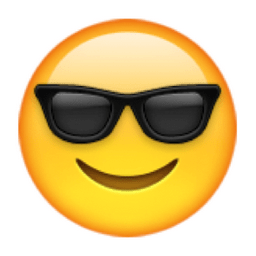 Image result for sunglasses emoji
