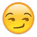 Image result for smirk emoji