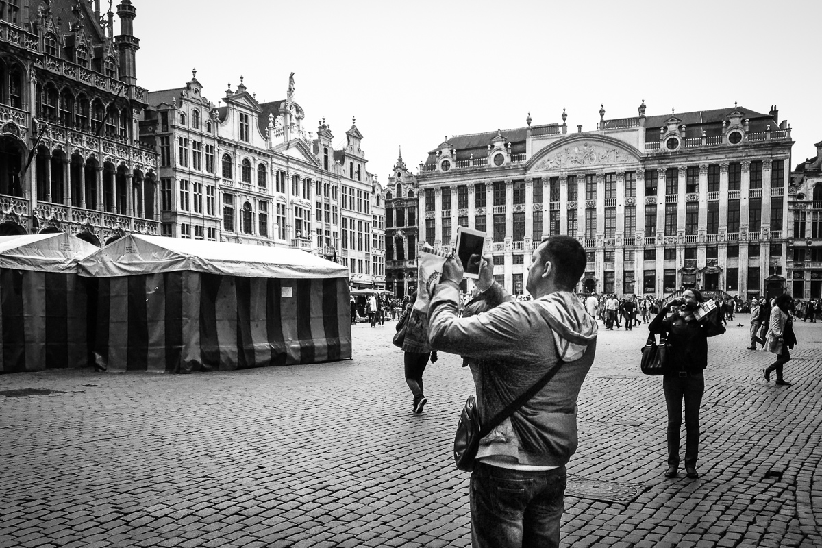 Ipadographer Grand-Place Brussels 2013