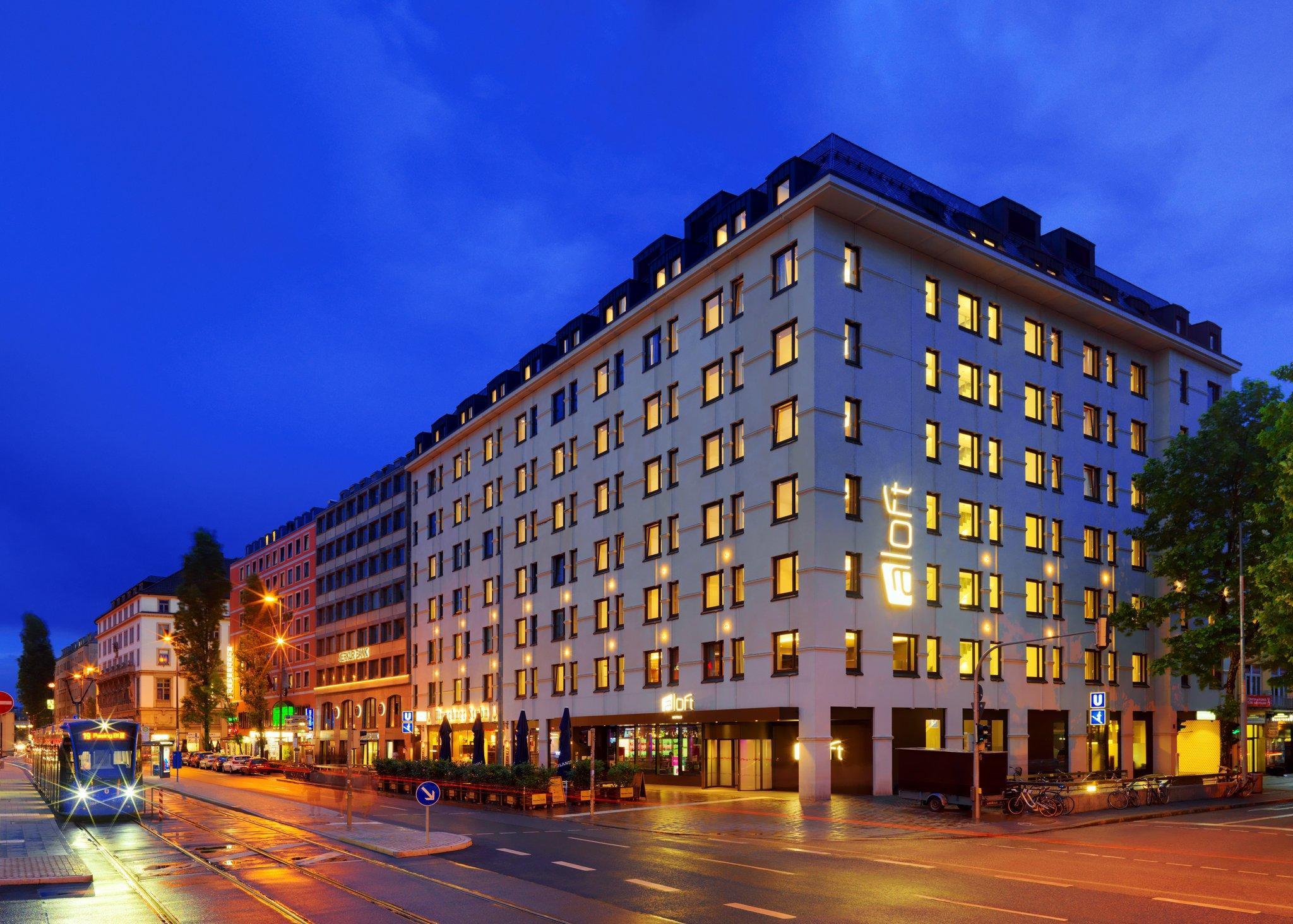 慕尼黑雅樂軒酒店 (Aloft Munich)_四星_預訂優惠價格_地址位置_聯繫方式