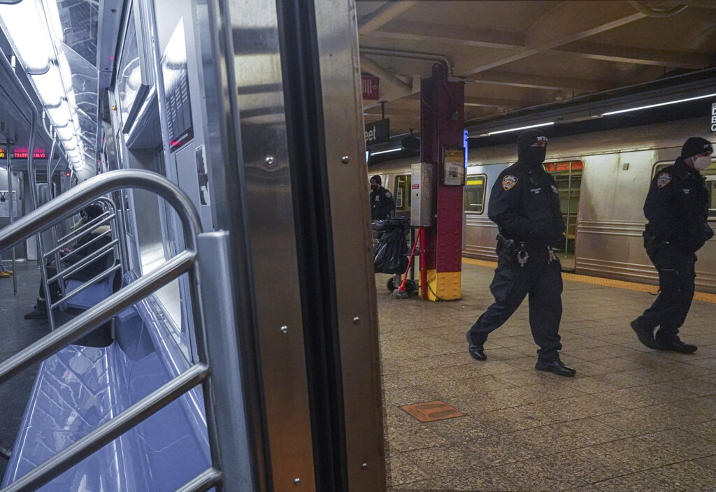 nypd subway patrols