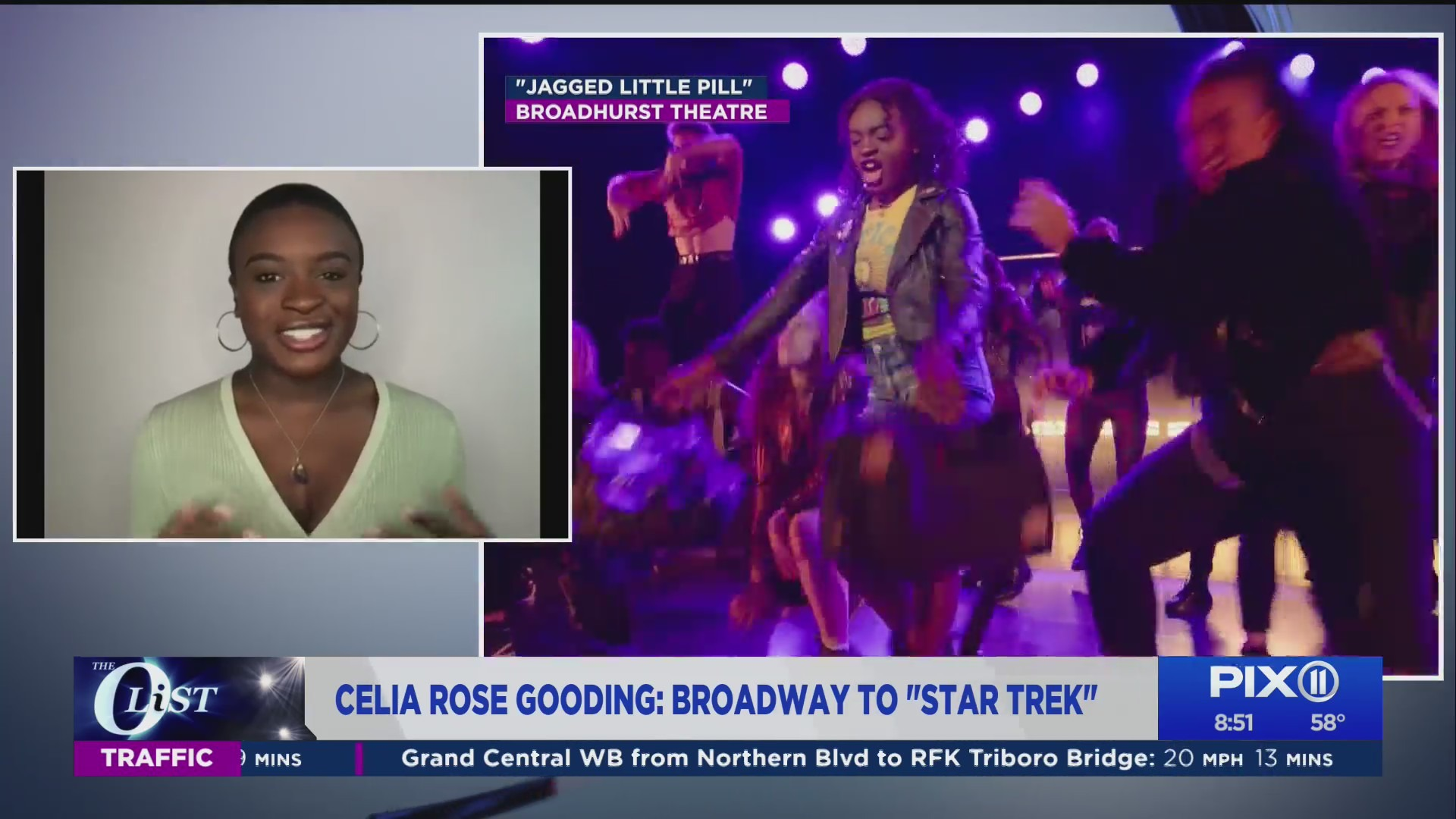 Celia Rose Gooding on PIX11