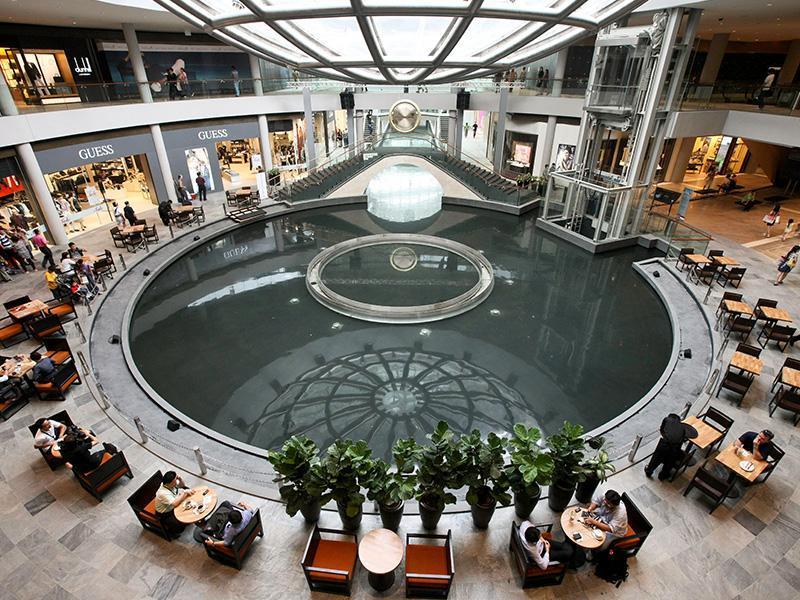 Marina Bay Sands Singapore - Shoppes