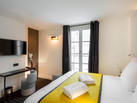The Hotel Scarlett in Belleville, Paris