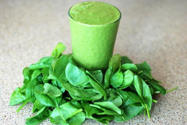 Green, Smoothie, Leafy, Greens, Spinach, Drink, Food