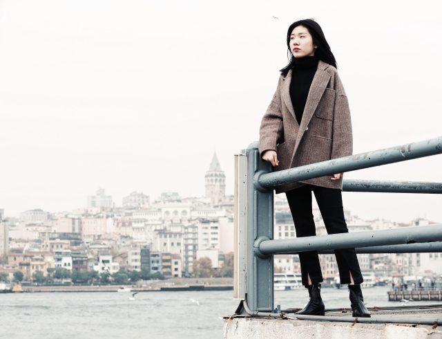 Asian girl in Istanbul