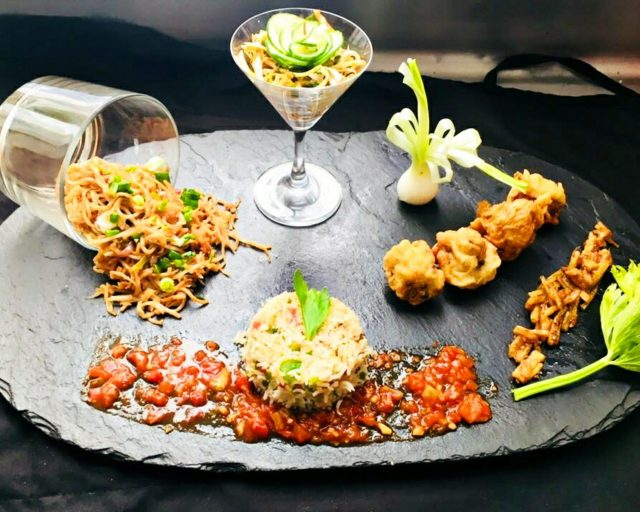 Appetizer food platter