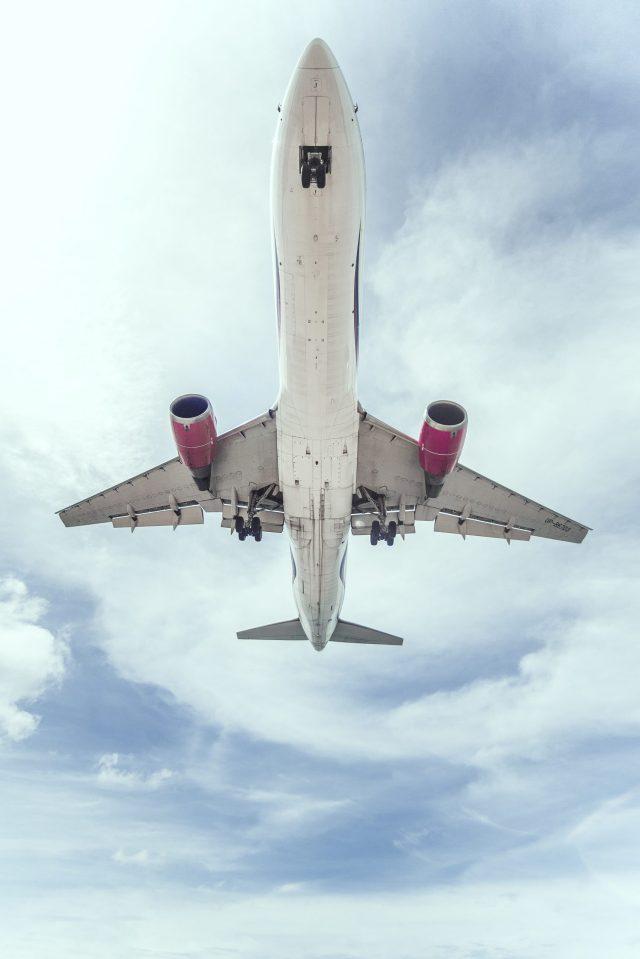 Plane Flying Over