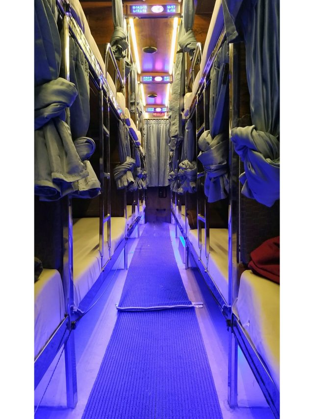Sleeper Bus Interior