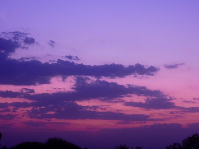 Twilight evening in Solapur
