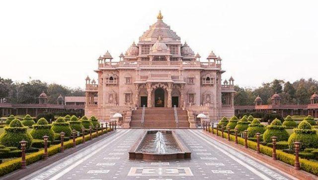 Akshardham Temple at Gandhinagar